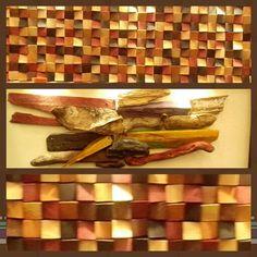 Cuadros con madera #mueblesdico #decoration #design #ideas #muebles