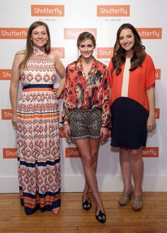 Michelle Workman, Olivia Palermo and Brit Morin attend Shutterfly By Design hosted by Olivia Palermo, Brit Morin and Michelle Workman on June 25, 2014 in New York City.