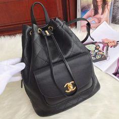 92a213ddfa51 Chanel Drawstring Backpack 100% Authentic 80% Off | Chanel Bags Sale Outlet  Backpack 2017