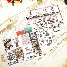 January 2018 The Planner Society Box Stickers Kit