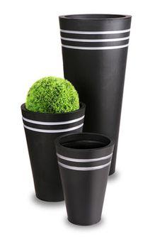 Tall Round Zinc Planter Black Metal Plant Flower Pot Garden Patio Container Tub | eBay    Business seller information      Meika Ltd                Primrose London    44 Portman Road    Reading    Berkshire    RG30 1EA    United Kingdom        Phone:0118 903 5210    Fax:0118 903 5219    Email:amazonebaycs@primrose-london.co.uk