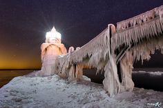"""""""Freeze Frame"""" - St Joseph Lighthouse by John McCormick on 500px"""