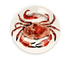 Emma Bridgewater Crab & Prawns 8.5in Plate Set