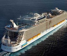 Royal Carribean cruise to anywhere...I just really love their cruises.