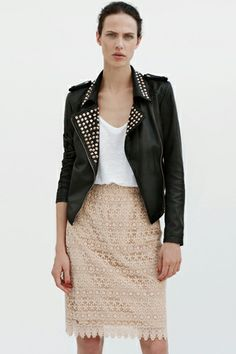 Lace, leather and Zara