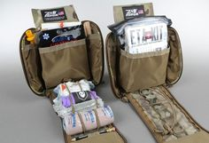 There are tons of options when it comes to first aid kits. Rolling your own is more cost effective, but if you choose to buy a kit make sure its a high-quality product. We highly recommend those sold by ITS Tactical .