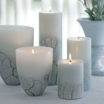 Love the shape of the candels.