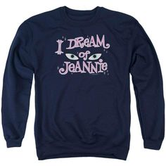 I Dream Of Jeannie - Eyes Adult Crewneck Sweatshirt