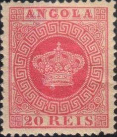 Stamp: Crown (Angola) (Crown) Mi:AO 11,Sn:AO 11,Yt:AO 11,Afi:AO 11