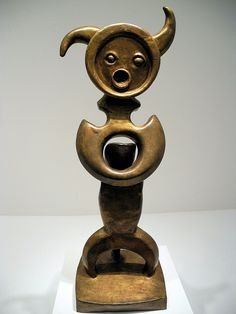 Max Ernst - Moonmad at Hirshhorn Art Museum Washington DC by mbell1975, .PinIt : Anónimo de Piedra