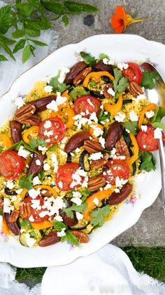 Healthy Vegetables, Healthy Salads, Veggies, Healthy Eating, Healthy Recipes, Healthy Food, Evening Meals, Soul Food, Salad Recipes