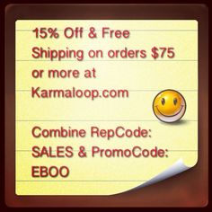 16% Off & Free Shipping on orders $75 or more at Karmaloop.com. Combine RepCode: SALES & PromoCode: EBOO. For more Karmaloop discounts and Free Shipping codes, visit http://www.Karmaloop-Codes.com #Karmaloop #Coupons #Codes #Freeshipping