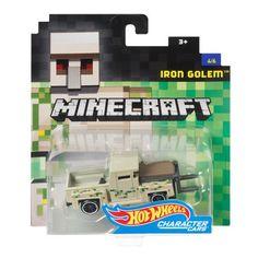 Hot Wheels Minecraft Iron Golem Vehicle, Scale, New, Free Ship Minecraft Shops, Minecraft Iron, Minecraft Hot Wheels, Iron Golem, Bath N Body Works, Custom Hot Wheels, O Pokemon, Weird Cars, Kids Corner