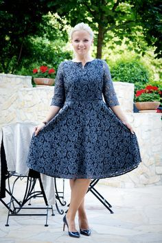 Schnittmuster Laboe - Tutorial wie man das Kleid ganz einfach unterfüttert. Von Pech & Schwefel