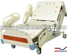 PM 901 4 Motorlu Hasta Karyolası Yataksız