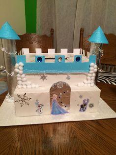Tatum's Frozen Castle Valentine's Box :)