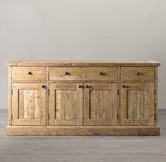 Salvaged Wood Sideboard. I want!!!!