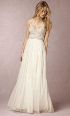 New (Altered) BHLDN 38613352/Naya Wedding Dress $200 USD. Buy it PreOwned now and save 42% off the salon price!