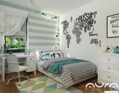 Dom we Włocławku, 2017 Teen Bedroom, Dream Bedroom, Bedroom Ideas, Diy Organization, New Room, Girl Room, Diy Furniture, Room Decor, Interior