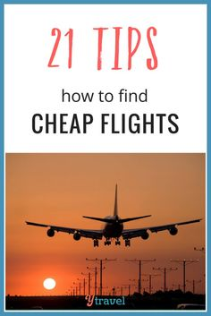 21 ways to find cheap flights on the internet. Plus suggestions on the best websites for searching deals.