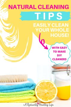 If you're getting ready to start spring cleaning but are short on time or energy (or both!) here are 9 hacks to help you easily tackle your spring cleaning list! You'll also find DIY cleaning recipes, helpful tools and equipment, and helpful organization tips and tools.