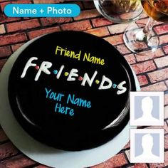 Create happy birthday cake with name for your friends now. We provide all the latest features to make the birthday cakes with name, age, and photo. Birthday Cake For Brother, Big Birthday Cake, Happy Birthday Chocolate Cake, Friends Birthday Cake, Happy Birthday Cake Pictures, Happy Birthday Wishes Cake, Birthday Cake With Photo, Friends Cake, Birthday Chocolates