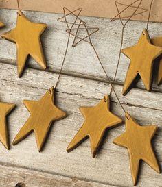 hanging stars...