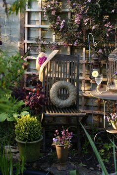 Garden inspiration from The Swenglish Home