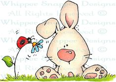 Hunny Bunny - Easter - Holidays - Rubber Stamps - Shop