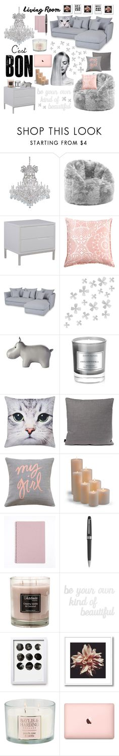 """""""(38)"""" by cristina-daniela-munteanu ❤ liked on Polyvore featuring interior, interiors, interior design, home, home decor, interior decorating, Comfort Research, Dot & Bo, Serena & Lily and D.L. & Co."""
