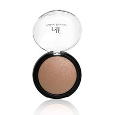 e.l.f. Studio Baked Bronzer 83361 St. Lucia. Create a healthy, shimmering sun-kissed look. Long-lasting formula. Nourish and hydrate the skin.