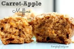 An easy, delicious recipe that is perfect for the whole family. These carrot-apple muffins are a great way to sneak vegetables into your children's diets.