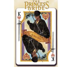 Albino Dragon is raising funds for The Princess Bride Playing Cards from USPCC on Kickstarter! An amazing new illustrative deck based on The Princess Bride movie. Princess Bride Movie, Dragon Project, King Card, Sword Fight, King Of Hearts, Great Films, Geek Out, Deck Of Cards, Movies Showing