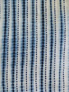 A Cooling Shibori Yukata: Two Processes | SRI Threads; suji and surikomi