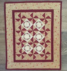 Little Red Five - Red Button Quilt Co.