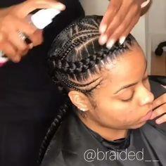 Cornrow Braids Cornrows Braids Different Types Of Cornrows How To Cornrow Crochet Braids Cor African Braids Hairstyles Natural Hair Styles Two Braid Hairstyles