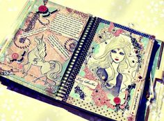 SCRAPBOOK - The last unicorn. My smashbook