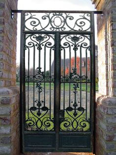 Image detail for -Custom Wrought Iron Gates | Gates of Wrought Iron| Gates Forged ...