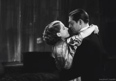 Norma Shearer and Clark Gable in A Free Soul (Clarence Brown, 1931)
