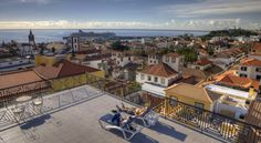 Hotel Orquidea Funchal Orquidea opens out on to an extra-large roof-top terrace, overlooking Funchal and the Atlantic Ocean. Enjoy its elevated location less than 200 metres from the Museu do Vinho and Monte Palace Tropical Gardens.