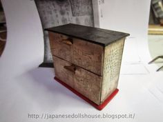 #japanese #ryokan #dollhouse Additional Work: The Cabinet for the Buddha Room