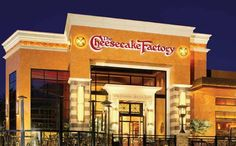I only moved to Memphis because I thought there was a Cheesecake Factory. You can only imagine my disappointment when I found out there wasn't one.
