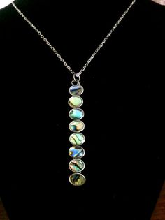 Vintage Abalone Bead Necklace