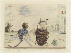 Insectes singuliers (Zonderlinge insekten) - James Ensor, 1957   Collectie Boijmans