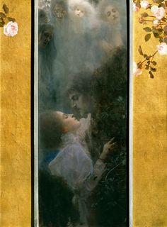 Любовь. Густав Климт