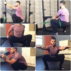 #TransformationTuesday Struggling with your squat? Try these 5 DEEP SQUAT MOBILITY HACKS from our fitness director BJ Gaddour (@bjgaddour)! It's commonplace for top fitness experts around the world to recommend to their clients that they spend at least 5-10 minutes per day in a deep squat position. The purpose is to get some much needed mobility work for the often tight and stiff ankles, knees, and hips, prevent lower back pain, and naturally, improve your squat mechanics. But the problem is…
