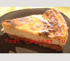 TARTA DE REQUESÓN ~ Post Cocinas Tu