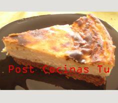 TARTA DE REQUESÓN ~ Post Cocinas Tu