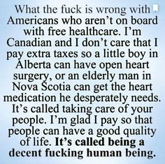 I'm sorry maybe it's because not everyone pays for it and people get out of it because they'll do anything to get stuff for free. I love helping people and if I could help all the people who REALLY needed I would, but the fact of the matter is there's a bunch of people in this world who feel entitled to everything and I don't feel like working my ass off to make money and pay for lazy people to do nothing
