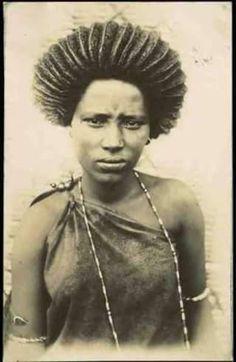 Hair styles in Jimma, Oromiyaa, East Africa (1885-1894)